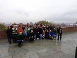 Mai mulţi elevi şi profesori de la Colegiul Tehnic de Industrie Alimentară au fost într-o vizită culturală în Italia