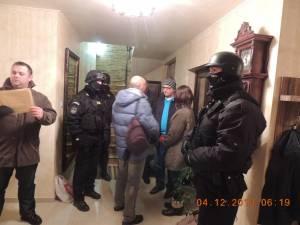 În locuinţa unuia dintre suspecţi