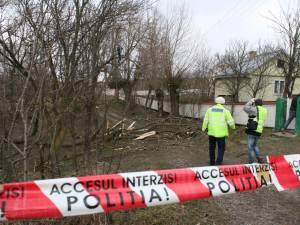 Poliţia a demarat o anchetă la faţa locului