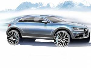 Audi prefațează viitorul Q1 la Salonul Auto de la Detroit