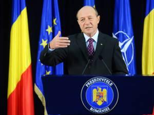 Traian Băsescu, președintele României  Foto: Sorin LUPŞA