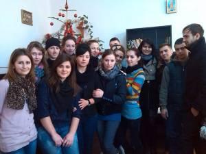 Acţiune de voluntariat la Căminul pentru bătrâni din Solca