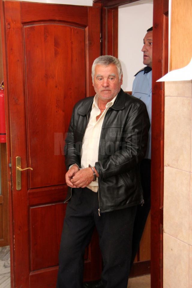 Gheorghe Andronic va sta 25 de închisoare după ce şi-a omorât mama