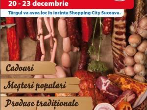 """""""Târg de Crăciun"""", la Shopping City Suceava"""