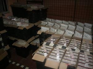 59.000 de pachete de ţigări au fost furate din Camera de Corpuri Delicte a Poliţiei Rădăuţi