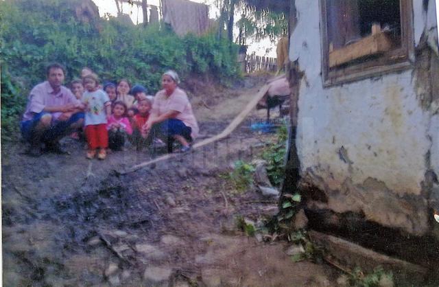 Ionut Florescu şi familia sa