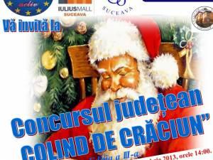 """Concursul judeţean """"Colind de Crăciun"""", ediţia a III-a"""