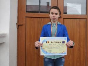 Angelica Olinici a reuşit o performanţă excelentă la Bacău