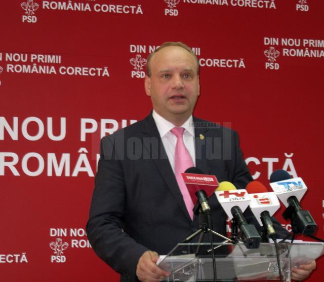 """Ovidiu Donţu: """"Propun sancţiuni mai aspre în Codul Penal pentru demnitari"""""""