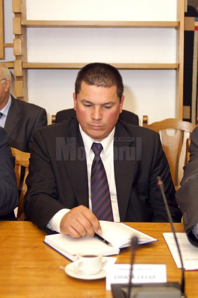 Deputatul Cezar Cioată, preşedinte interimar al PC Suceava