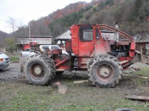 TAF (tractor articulat forestier)