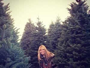 Heidi Klum a cumpărat şase brazi de Crăciun