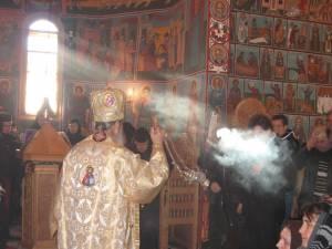Hram la Mănăstirea Voroneţ de ziua Sf. Daniil Sihastrul
