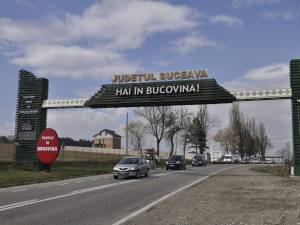 Poarta de intrare în judeţ din Drăguşeni