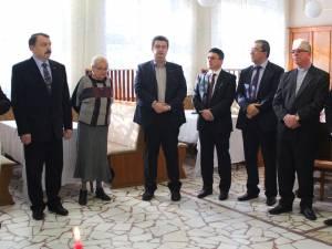 Împărţirea oplatekului a fost organizata de deputatul Ghervazen Longher