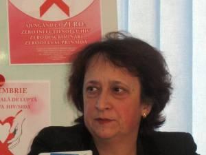 Directorul adjunct medical al DSP, dr. Cătălina Zorescu