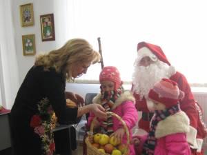 Sanda-Maria Ardeleanu a primit colindători la biroul său parlamentar din cartierul Ițcani