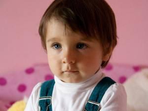 Alexia Ştefana Aruxandei Jecalo are 2 ani şi 7 luni