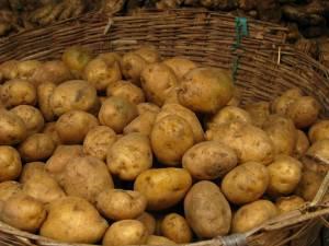 Kilogramul de cartofi a fost evaluat la 0,70 de lei