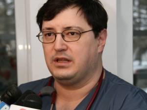 Purtătorul de cuvânt al Spitalului Suceava, dr. Tiberius Brădăţan, este noul director medical al unităţii sanitare