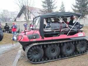 Autoşenilata din dotarea ISU Suceava