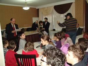 Festivitatea de premiere a fost moderată de prof. dr. Petru Crăciun