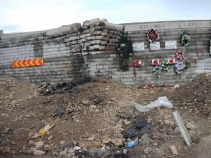 """""""Zidul Morţii"""", locul unde au murit patru oameni"""