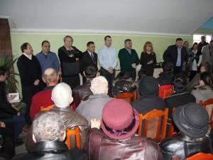 Întâlnire a locuitorilor din Iţcani cu democrat-liberalii suceveni