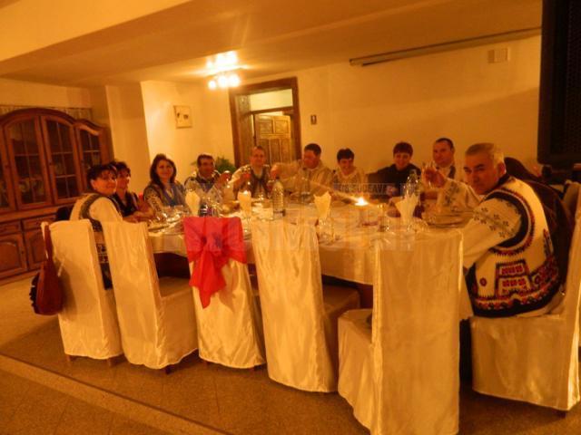 Balul gospodarilor la Suceviţa, un spectacol al tradiţiilor