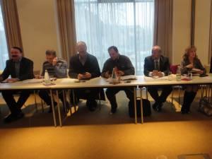 Municipiul Rădăuţi a găzduit, ieri după-amiază, prima întâlnire a Biroului Permanent Judeţean Suceava al Partidului Democrat Liberal