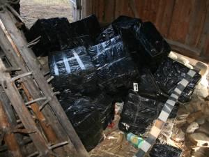 În şura lui Ioan Bodnari au fost găsite nu mai puţin de 14.072 de pachete de ţigări de contrabandă