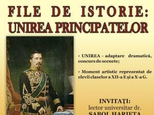"""""""File de istorie: Unirea Principatelor"""""""