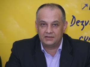 Preşedintele Organizaţiei Judeţene a PNL, deputatul Ştefan Alexandru Băişanu