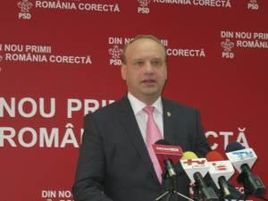 Preşedintele Organizaţiei Municipale Suceava a PSD, senatorul Ovidiu Donţu
