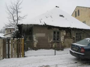 Casa de lemn Hopmeier, de pe strada Armenească nr. 13, se află acum într-o stare avansată de degradare