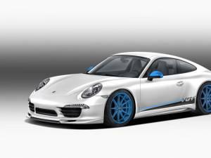 Porsche 911 se îmbracă în fibră de carbon