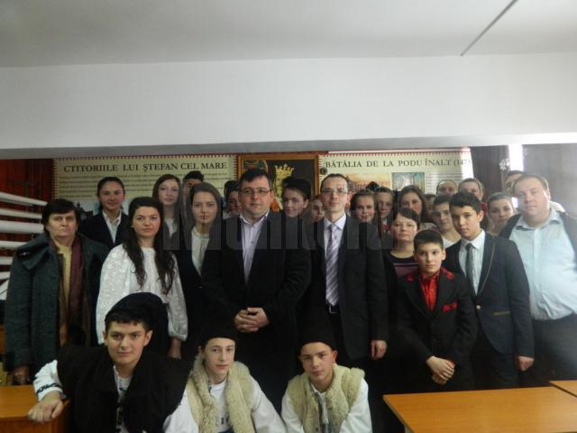 Ziua Unirii, sărbătorită de elevii Liceului Tehnologic Cajvana