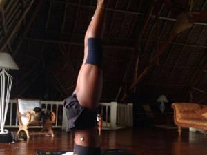 Naomi Campbell, pasionată de yoga