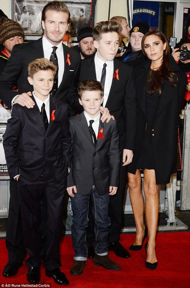 Victoria şi David Beckham dau 1 milion de lire sterline pe securitate