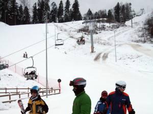 Pârtia de schi de la Gura Humorului se deschide peste două zile, vineri, 31 ianuarie