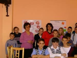 Activitate de prevenire a violenţei şcolare, la Şcoala Gimnazială Nr. 4