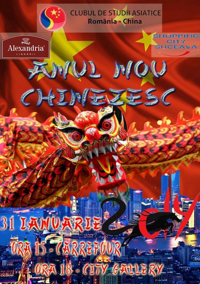 Anul Nou chinezesc, la Carrefour şi City Gallery