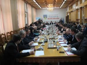 Consilierii judeţeni au votat în unanimitate şi pentru contractarea unui credit de 33 de milioane de lei