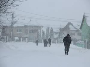 Cea mai scăzută temperatură din judeţ s-a înregistrat la Stulpicani: minus 24,4 grade Celsius