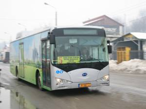 Autobuzul electric BYD
