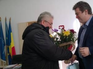 Preşedintele Consiliului Judeţean, felicitat de ziua sa de primarul Sucevei