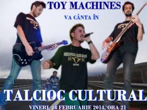 Toy Machines, cu piesele de pe primul album, la Talcioc Cultural