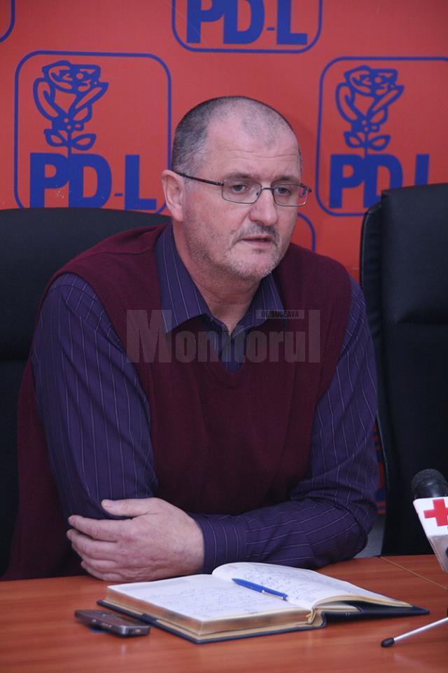 Prim-vicepreşedintele PDL Suceava, Orest Onofrei