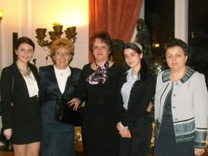 Delegaţia suceveană, alături de Delia Anghel - inspector general pentru limba franceză din cadrul MEN