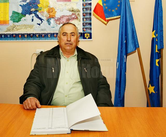 Gheorghe Cajvan, primarul comunei Capu Câmpului